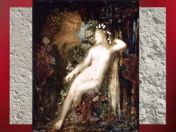 D'après Galatée, Gustave Moreau, 1800, mouvement symboliste, XIXe siècle. (Marsailly/Blogostelle)