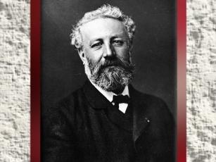 D'après un portrait de Jules Verne par le photographe Félix Nadar, vers 1878 apjc. (Marsailly/Blogostelle)