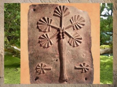 D'après un arbre-palme sculpté dans le bois, inspiré d'un proverbe, Benin, art africain. (Marsailly/Blogostelle.)