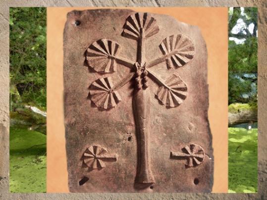 D'après un arbre-palme sculpté dans le bois, inspiré d'un proverbe, Benin, art africain. (Marsailly/Blogostelle)