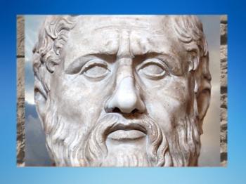 D'après le philosophe Platon, copie romaine d'un original grec de la fin du IVe siècle avjc. (Marsailly/Blogostelle)