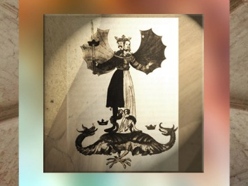 D'après l'iconographie alchimique occidentale, l'union des opposés et l'épée. (Marsailly/Blogostelle)