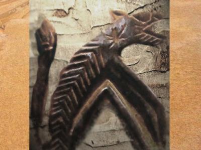 D'après le Renard Pâle, l'inquiétant démiurge Dogon de la nuit, art africain. (Marsailly/Blogostelle)