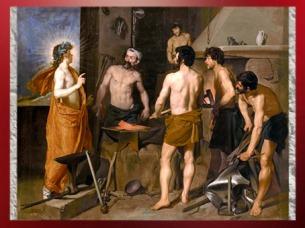 D'après La Forge de Vulcain, de Velasquez, XVIIe siècle apjc. (Marsailly/Blogostelle)