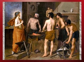 D'après La Forge de Vulcain, Velasquez, vers 1629–1630 apjc, XVIIe siècle apjc. (Marsailly/Blogostelle)