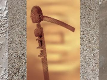 D'après une hache de cérémonie, Dogon, Mali, art Africain. (Marsailly/Blogostelle)