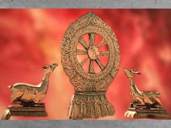 D'après la roue de la Loi du Buddha sur le modèle de Lhassa. (Marsailly/Blogostelle)