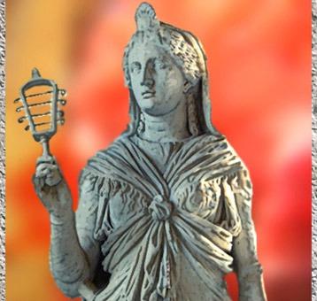 D'après une sculpture d'Isis et son sistre, vers 117-138 apjc, époque d'Hadrien, art romain. (Marsailly/Blogostelle)