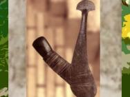 D'après une hache rituelle, art Océanien. (Marsailly/Blogostelle)