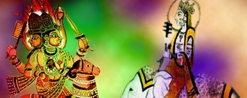 Le Sacré en Inde, les dieux Indra et Agni illuminent le Cielvédique