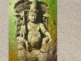 D'après le dieu védique Soma, présenté comme l'âme et le centre du sacrifice dans le Rig-Veda. (Marsailly/Blogostelle.)