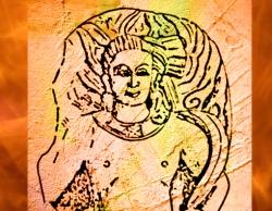 D'après le dieu védique du Feu, Agni, Mathurâ, Ier-IIe siécle apjc, Uttar Pradesh. (Marsailly/Blogostelle.)