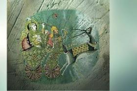 D'après une image du dieu védique Soma, parfois associé à la Lune. (Marsailly/Blogostelle.)