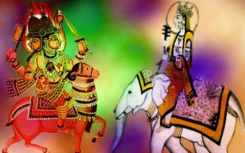 Le Sacré en Inde, les dieux Agni et Indra (Marsailly/Blogostelle)