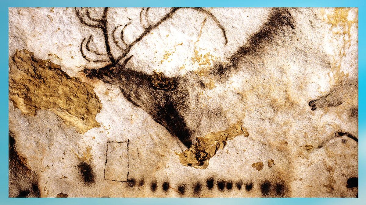D'après l'art de la préhistoire, images et signes, paléolithiques. (Marsailly Blogostelle)