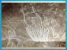 D'après un hibou, grotte Chauvet, Pont d'Arc, Ardèche, 36 000 ans avjc, France, style naturaliste, paléolithique supérieur. (Marsailly/Blogostelle)