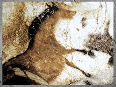 D'après un cheval renversé, grotte de Lascaux, vers 18 000 avjc, Magdalénien, Dordogne, France, Paléolithique supérieur. (Marsailly/Blogostelle)