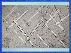 D'après des aiguilles à chas, en os, vers 20 000-18 000 ans avjc, Magdalénien, paléolithique supérieur. (Marsailly/Blogostelle)