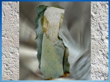 D'après un racloir denticulé,  silex taillé, moustérien, paléolithique moyen.  (Marsailly/Blogostelle)