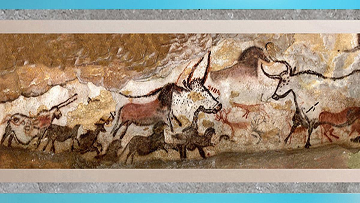 D'après l'art paléolithique, l'âge d'or magdalénien, la préhistoire. (Marsailly/Blogostelle)