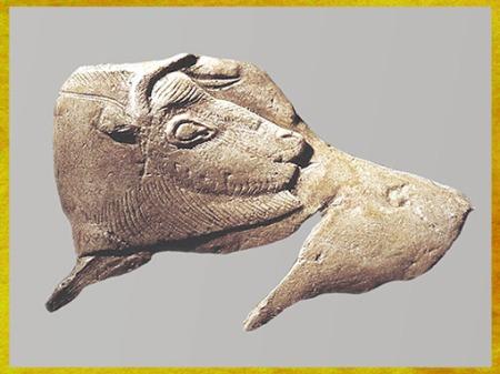 D'après le Bison à sa toilette, La Madeleine, France, magdalénien, 18000-10000 avjc, France, paléolithique supérieur. (Marsailly/Blogostelle)