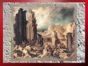 D'après La vision d'Ézéchiel, une œuvre de Francisco Collantes, XVIIe siècle. (Marsailly/Blogostelle)