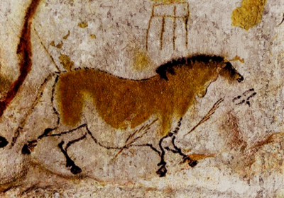 D'après la grotte de Lascaux, sommaire Préhistoire, histoire de l'art. (Marsailly/Blogostelle)