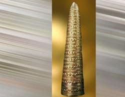 D'après le cône d'Aventon en or, vers 1500-1250 ans avjc, Vienne, France. (Marsailly/Blogostelle.)