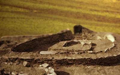 D'après les vestiges du village de Fontbouisse, Languedoc, IIIe-IIe millénaires avjc, France, Chalcolithique-âge du Bronze. (Marsailly/Blogostelle)