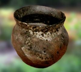 D'après un récipient en céramique de l'âge du Bronze, France. (Marsailly/Blogostelle.)