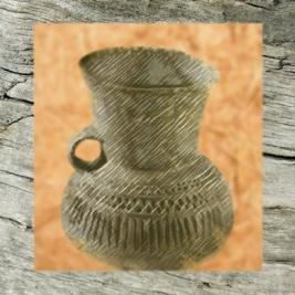 D'après un vase de Videlles de l'âge du Bronze, Essonne, en France. (Marsailly/Blogostelle.)