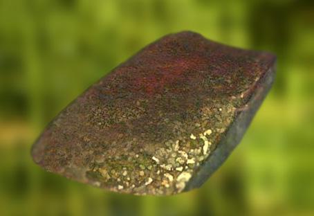 D'après une hache en cuivre, IIIe-IIe millénaires avjc, Chalcolithique-âge du Bronze. (Marsailly/Blogostelle)