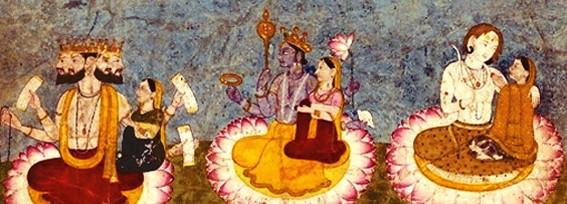 Arts de l'Inde, l'époque védique, la poésie sacrée deshymnes