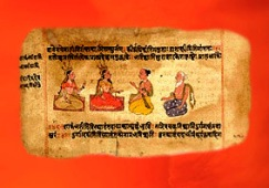 D'après Le Rig-Veda, 1028 hymnes et prières. (Marsailly/Blogostelle.)