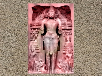 D'après le dieu Soleil Sûrya, XIIIe siècle, Konarak, Orissa, période médiévale, Inde ancienne. (Marsailly/Blogostelle)