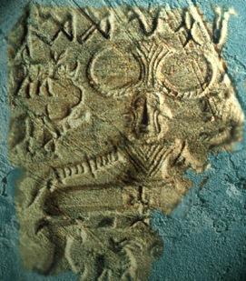 D'après un sceau de Mohenjo-Daro au thème du Yogi, entre 2300 et 1800 avjc, civilisation de l'Indus. (Marsailly/Blogostelle.)