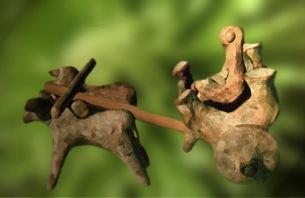 D'après un attelage façonné en terre cuite, Harappa, vers 2500-1800 avjc, civilisation de l'Indus, Inde ancienne. (Marsailly/Blogostelle)