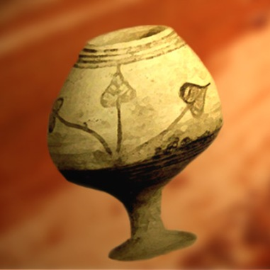 D'après un vase peint, vers 2500-2300 avjc, civilisation de l'Indus. (Marsailly/Blogostelle.)