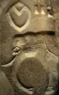 D'après une empreinte de sceau à motif d'éléphant et signes, Mohenjo-Daro, entre 2300 et 1800 avjc, civilisation de l'Indus. (Marsailly/Blogostelle)