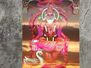 D'après l'Artisan Universel,Visvakarma, chanté dans les hymnes védiques, Inde ancienne. (Marsailly/Blogostelle)