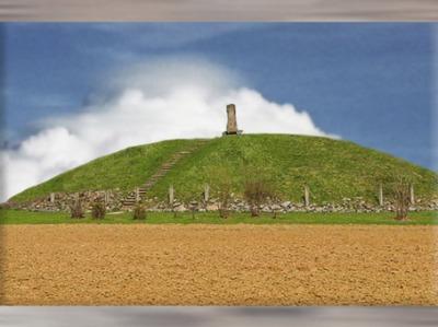 D'après le tumulus princier de Hochdorf, Allemagne, art Celte, premier âge du Fer. (Marsailly/Blogostelle)