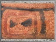 D'après les motifs géométriques du style de Hallstatt, art celte, premier âge du Fer. (Marsailly/Blogostelle)