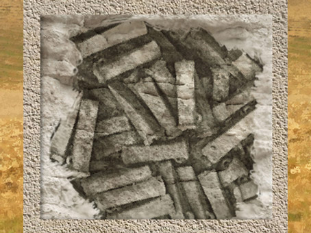 D'après des dépôts de haches à douille, vers 700 avjc, premier âge du Fer. (Marsailly/Blogostelle)