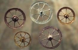 D'après des rouelles votives de l'âge du Fer. (Marsailly/Blogostelle)