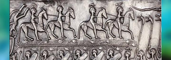 Les Dieux celtiques de L'Autre Monde… sanglier, cerf, torque, roue, chaudron, foudre,corde…
