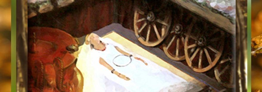 D'après les tombes celtes, ouverture, âge du Fer. (Marsailly/Blogostelle)