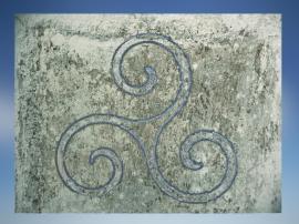 D'après le triscèle celtique au dessin spiralé. (Marsailly/Blogostelle.)