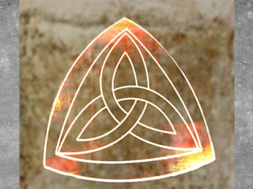 D'après le symbole celtique du triple entrelacs. (Marsailly/Blogostelle)