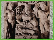 D'après Cernunnos, dieu Gaulois, entre Apollon et Mercure, Ier-IIIe siècle apjc, Gaule Romaine. (Marsailly/Blogostelle)