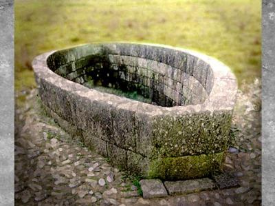 D'après le bassin ovale de l'oppidum de Bibracte, vers les IIe et Ier siècle avjc, Bourgogne,La Tène, Gaule celtique. (Marsailly/Blogostelle)